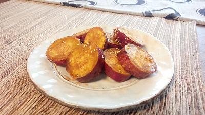 サツマイモの甘辛