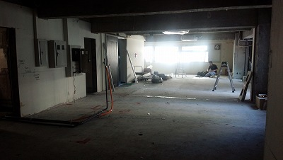 パーソナルトレーニングジム新店舗